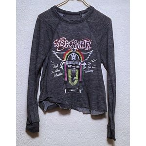 Recycled Karma Aerosmith Sweatshirt Small